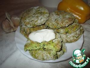 Рецепт Запечённые сырники с китайской капустой, шпинатом и овсянкой