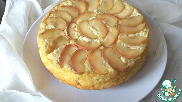 Запеканка творожная с яблоками в мультиварке рецепты 202