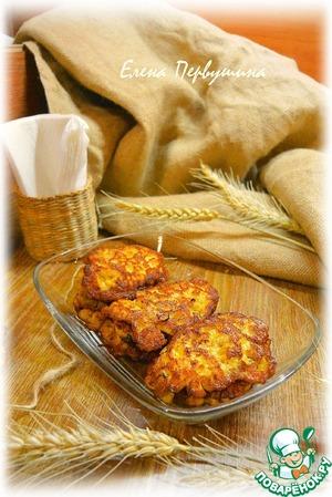 Рецепт Оладьи куриные с тыквой и мацони