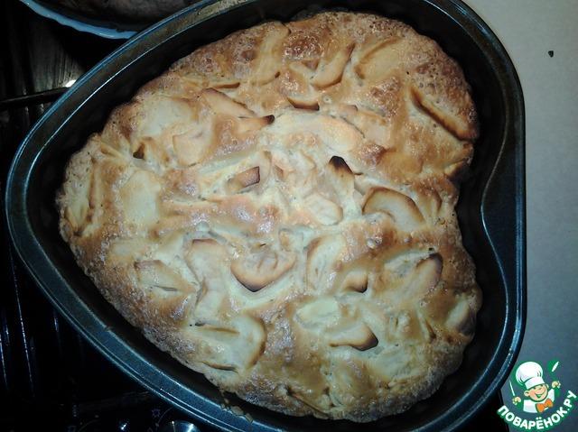 Шарлотка с картошкой рецепт с фото