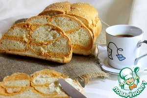 Рецепт Хлеб с томатом и рисовыми хлопьями