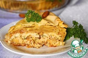 Рецепт Бастийя с курицей