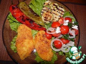 Рецепт Запеченное куриное филе в вкусной панировке