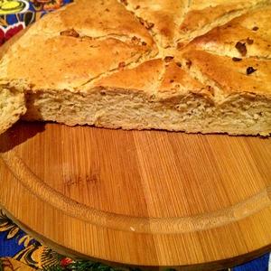 """Рецепт Австралийский бездрожжевой быстрый хлеб """"Дампер"""""""