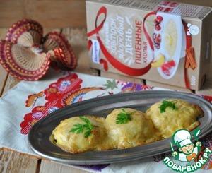 Рецепт Пшённые биточки под сырной корочкой
