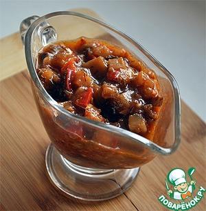 Любимое рагу из баклажанов простой рецепт с фото пошагово