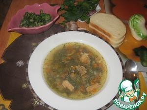 Рецепт Крошево или серые щи