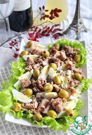 Рецепт Салат из баклажанов по-провансальски