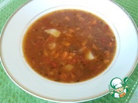 """Мексиканский суп """"Семь бобов"""" ингредиенты"""