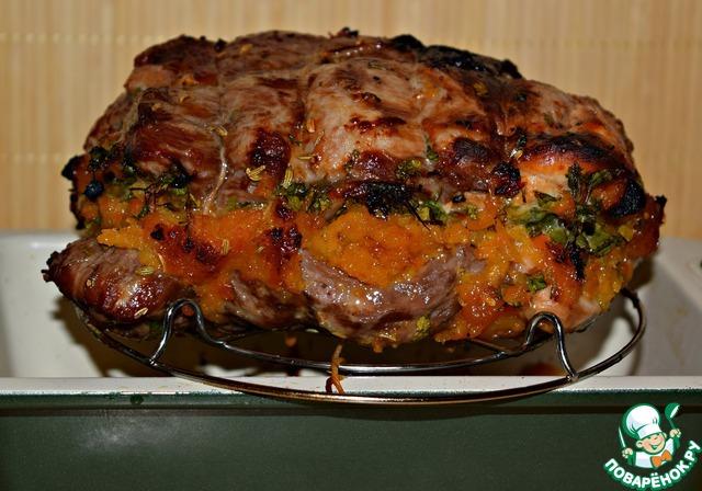 Свинина в духовке с пошагово