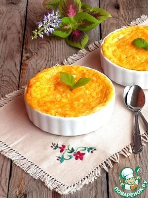 Рецепт Десертный манный омлет с морковью