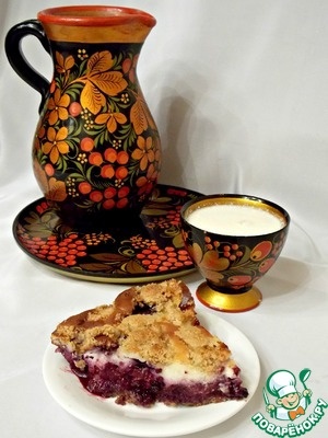 Рецепт Творожно-ягодный пирог