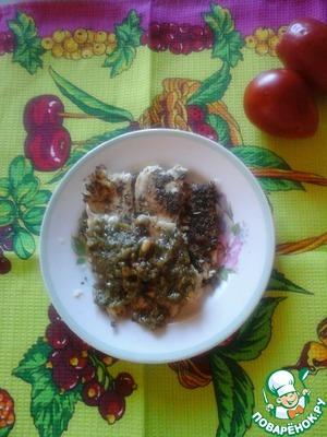 Рецепт Жареное филе камбалы с пряными травами