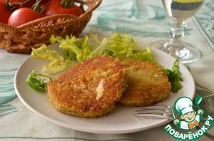 Рецепт Рисовые зразы с сыром