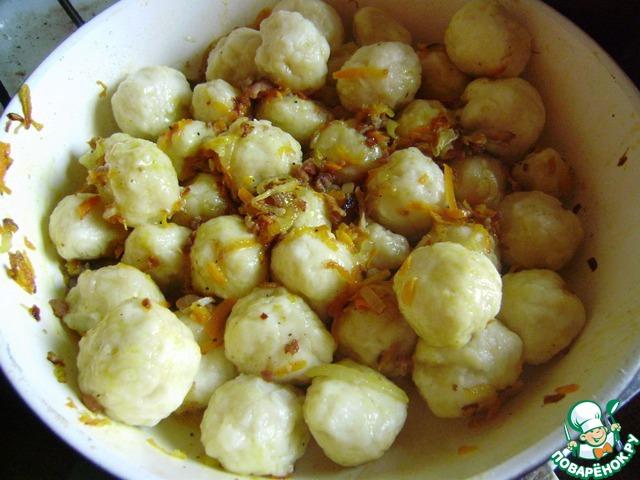 полтавские галушки рецепт с фото на пару