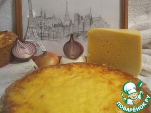 Рецепт Французкий луковый пирог