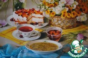 Рецепт Суп с шампиньонами и цветной капустой