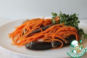 Рецепт Баклажаны фаршированные морковью