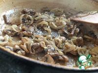 Ржаная галета с картофелем и грибами ингредиенты
