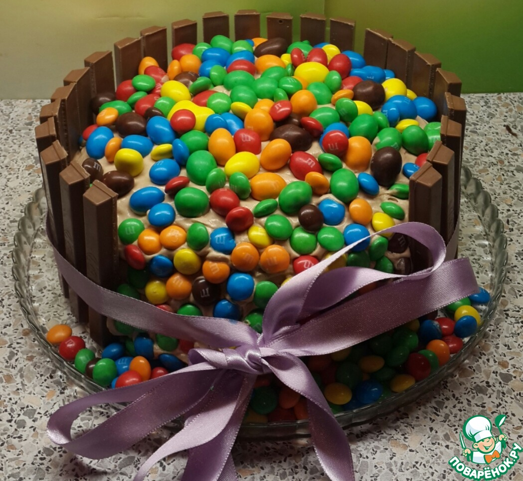 Своими руками сделать торт ребенку 8