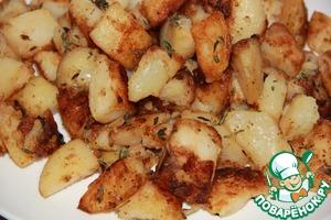 Рецепт Картофель печеный без духовки