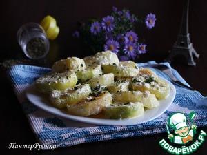 Рецепт Кабачок со сливками и эстрагоном