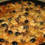 Тонкое тесто и соус для итальянской пиццы