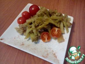 Рецепт Цветная капуста в панировке