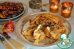 Рецепт Куриная грудка с рисом и сухофруктами