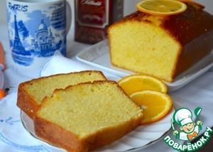 Рецепт Апельсиновый кекс от Пьера Эрме