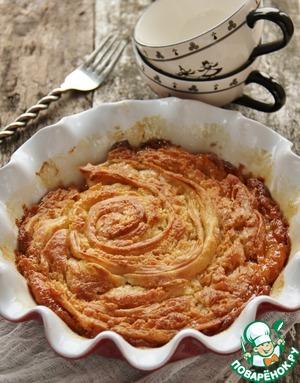 "Рецепт Масляный слоеный пирог ""Куинь аман"""