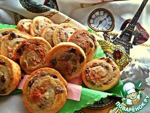 Рецепт Французские булочки с заварным кремом