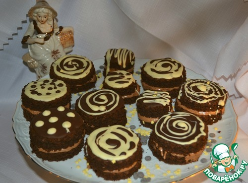 Французские мини-тортики