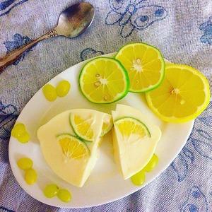 Рецепт Персиковое йогуртное желе с лаймом