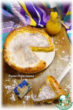 Рецепт Французский лимонный тарт