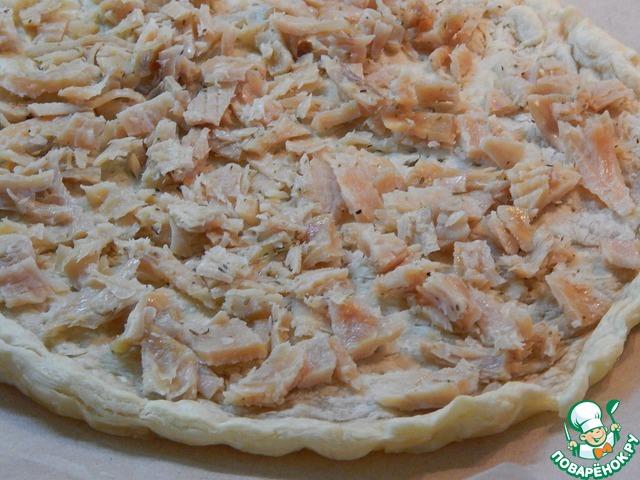 Рыбный пирог лазерсон
