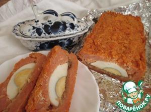 Рецепт Запеканка из рисовых хлопьев с томатом и яйцом