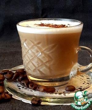 Рецепт Крем-кофе по-французски с ликёром