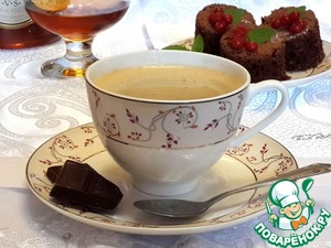 Рецепт Кофе по-французски с коньяком