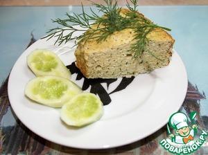 """Рецепт Пирог-суфле из куриной (индюшачьей) грудки """"Дачный"""""""