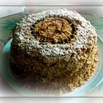 Кофейный торт на сковороде
