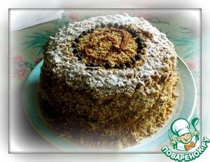 Рецепт Кофейный тортик на сковороде