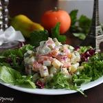 Картофельный салат во французском стиле