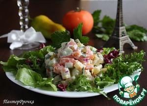 Рецепт Картофельный салат во французском стиле