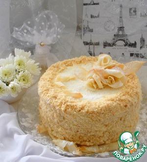 рецепты с фото с красивым оформлением десерты торт наполеон
