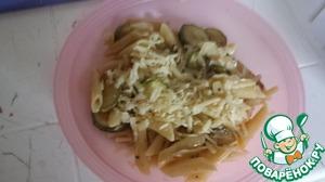 Рецепт Макароны с кабачками