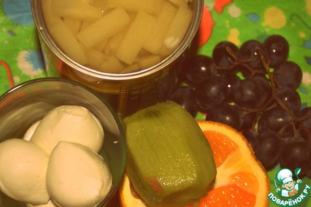 Как приготовить фруктовую начинку