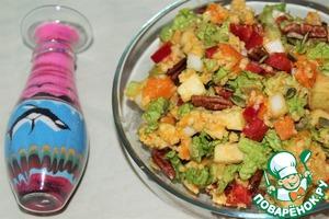 Рецепт Осенний салат с пшеном