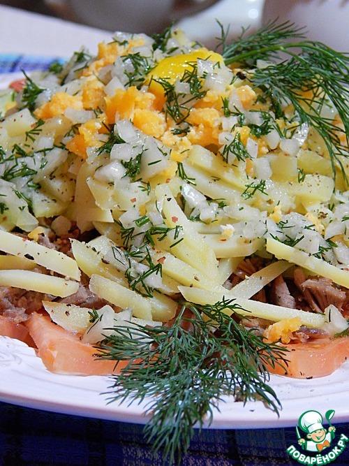 вкусные мясные салаты рецепты с фото новые