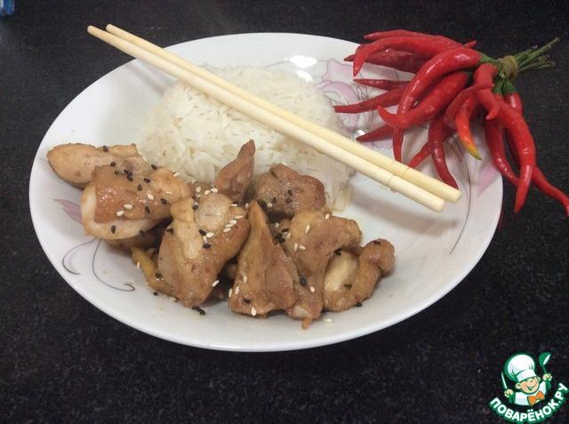 Курица по сычуаньски рецепт с фото